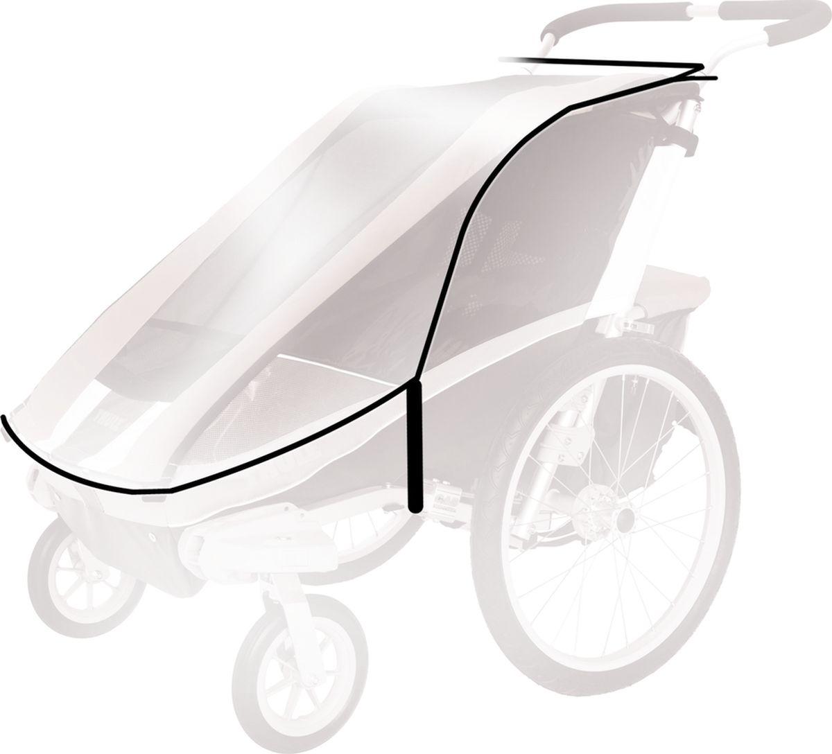 Thule Дождевой чехол для спортивной коляски Chariot Corsaire 2 люлька для коляски thule thule mp002xc000cd