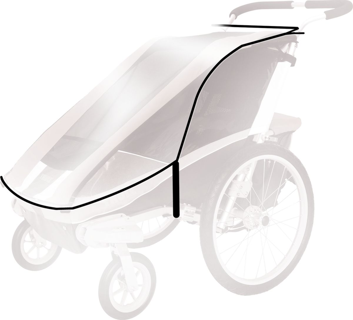 Thule Дождевой чехол для коляски Capitan 2