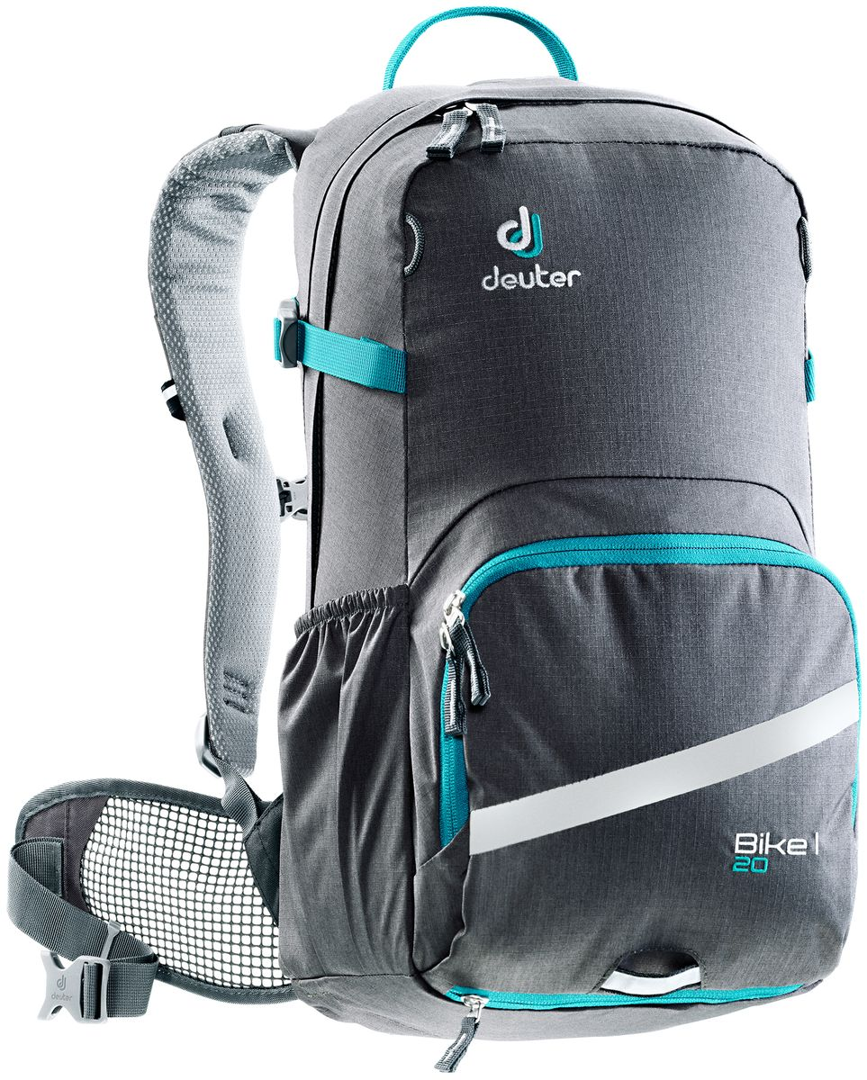 Рюкзак Deuter Bike I 20, цвет: темно-серый, 20 л deuter giga blackberry dresscode