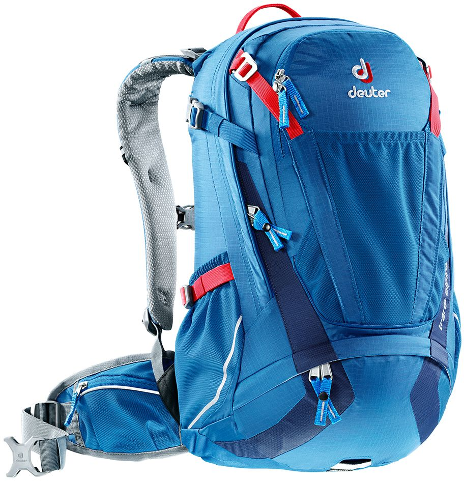 Рюкзак Deuter Trans Alpine 24, цвет: синий, 24 л рюкзак deuter deuter alpine winter pace красный 36л
