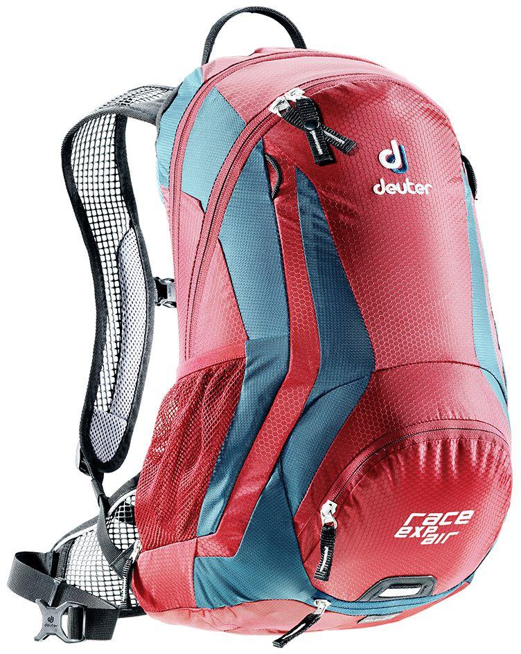 Рюкзак Deuter Race EXP Air, цвет: бордовый, темно-синий, 12 л рюкзак спортивный deuter bike race exp air цвет черно белый 15 л