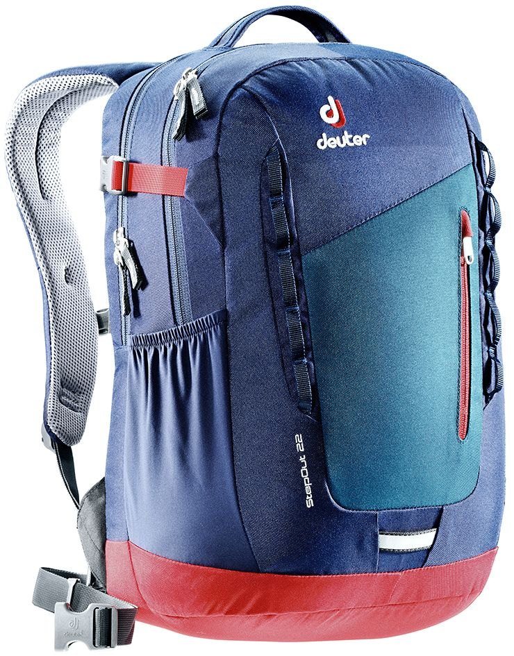 Рюкзак Deuter Daypacks StepOut 22, цвет: синий, 22 л рюкзак deuter daypacks gigant bay dresscode б р uni