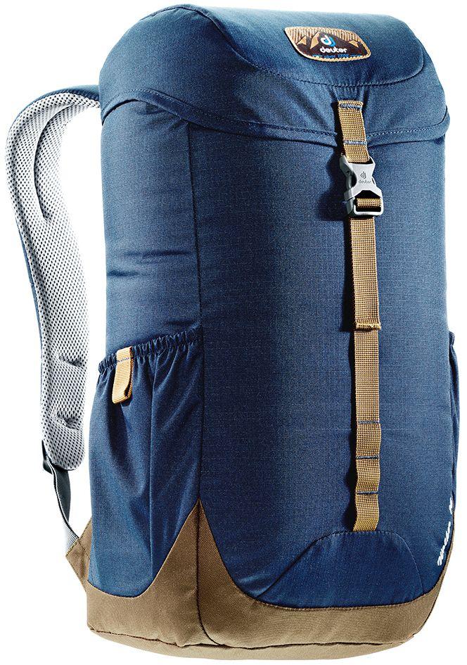 Рюкзак Deuter Walker 16, цвет: коричневый, темно-синий, 16 л3810517_3608Компактный, спортивный рюкзак идеально подходит для людей, предпочитающих пешие прогулки. Система подвески AirComfort с великолепной вентиляцией и легкие материалы в конструкции делают рюкзак настолько удобными, что вы забудете, что у вас за спиной рюкзак.Особенности: Спинка Airstripes для великолепной вентиляции; Очень комфортные, эргономичные, с мягкими краями плечевые лямки; Отделение для документов; Карабин для ключей; Боковые карманы с эластичным, растягивающимся краем; Внутренний карман для ценных вещей (Walker 16 & 20). Размер рюкзака: 46 х 26 х 19.