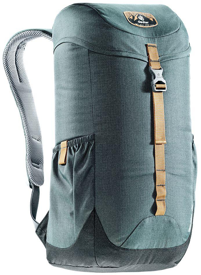 Рюкзак Deuter Walker 16, цвет: серый, черный, 16 л3810517_4750Компактный, спортивный рюкзак идеально подходит для людей, предпочитающих пешие прогулки. Система подвески AirComfort с великолепной вентиляцией и легкие материалы в конструкции делают рюкзак настолько удобными, что вы забудете, что у вас за спиной рюкзак.Особенности:Спинка Airstripes для великолепной вентиляции; Очень комфортные, эргономичные, с мягкими краями плечевые лямки; Отделение для документов; Карабин для ключей; Боковые карманы с эластичным, растягивающимся краем; Внутренний карман для ценных вещей (Walker 16 & 20). Размер рюкзака: 46 х 26 х 19.