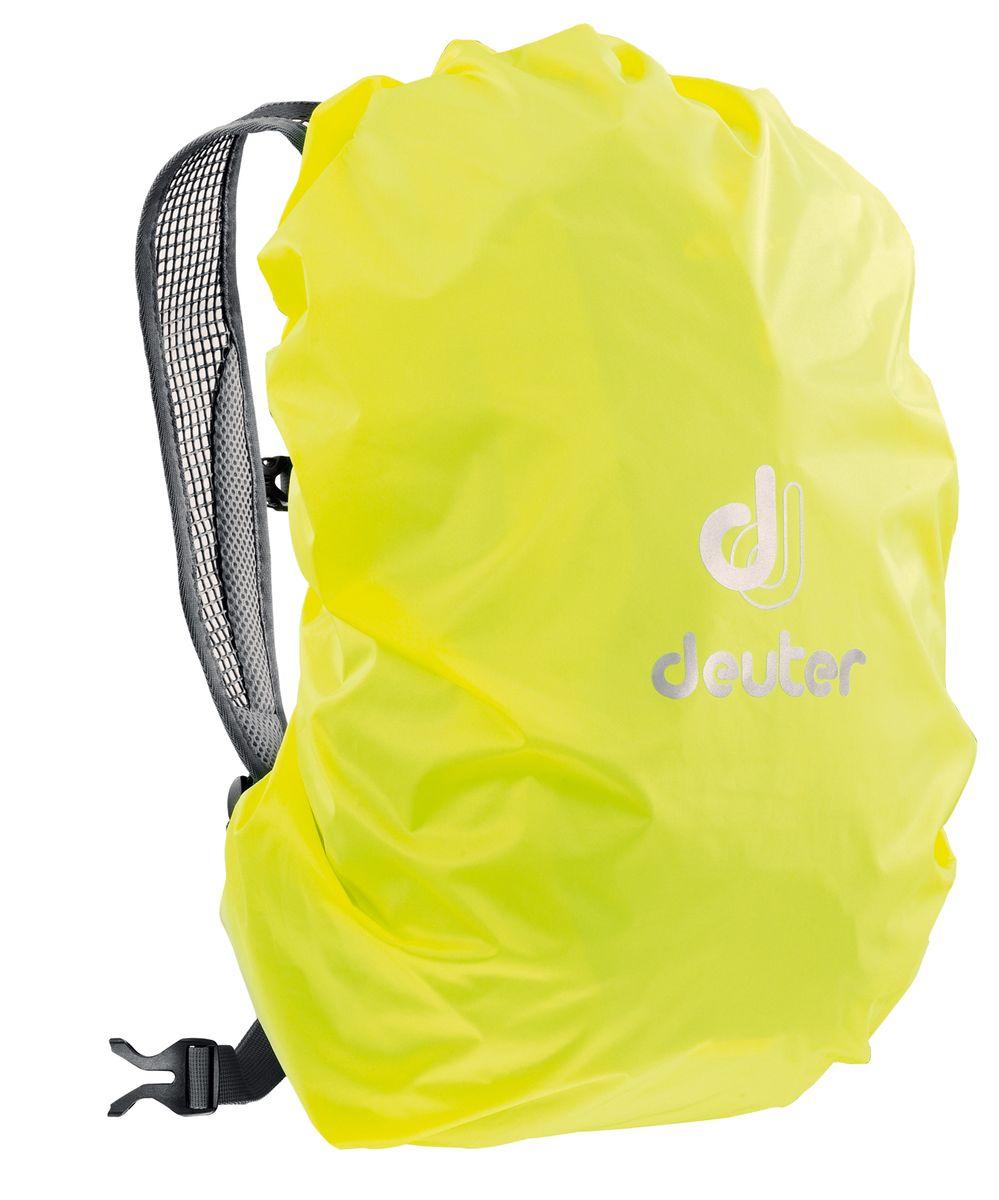 Чехол для рюкзака Deuter Raincover Mini, от дождя, цвет: желтый, 12-22 л67744Чехол от дождя Deuter Raincover Mini яркого неонового цвета гарантирует, что ваш рюкзак и его содержимое останется сухим даже после проливного дождя. Отличная влагозащита благодаря полиуретановому покрытию и швам, проклеенным лентой.Материал: Taffeta-Nylon.Вес: 65 г.Объем: 12-22 л.Размеры: 48 x 42 x 12 см.