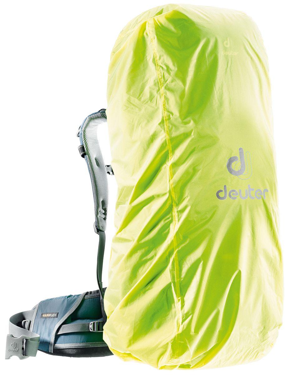 Чехол для рюкзака Deuter Raincover III, от дождя, цвет: желтый, 45-90 л67743Чехол от дождя Deuter Raincover III яркого неонового цвета гарантирует, что ваш рюкзак и его содержимое останется сухим даже после проливного дождя. Отличная влагозащита благодаря полиуретановому покрытию и швам, проклеенным лентой.Подходит для рюкзаков объемом 45-90 л.Вес: 130 г.Размер: 97x37x30 см.