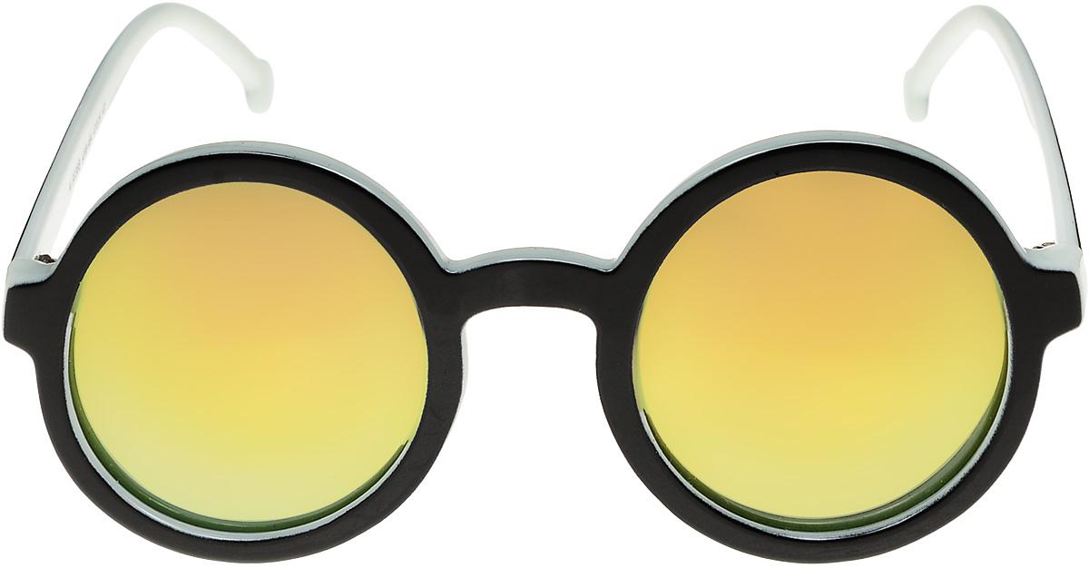 Очки солнцезащитные женские Vittorio Richi, цвет: черный, белый. ОС9038c208-464/17fBM8434-58AEОчки солнцезащитные Vittorio Richi это знаменитое итальянское качество и традиционно изысканный дизайн.