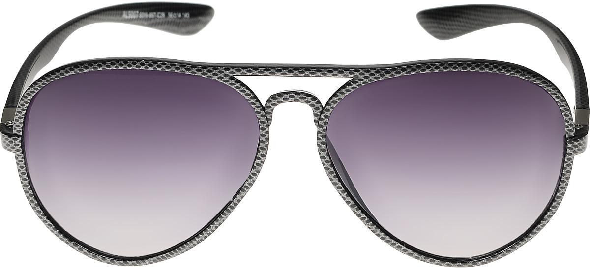 Очки солнцезащитные женские Vittorio Richi, цвет: черный. ОС9007с016-667-29/17fINT-06501Очки солнцезащитные Vittorio Richi это знаменитое итальянское качество и традиционно изысканный дизайн.