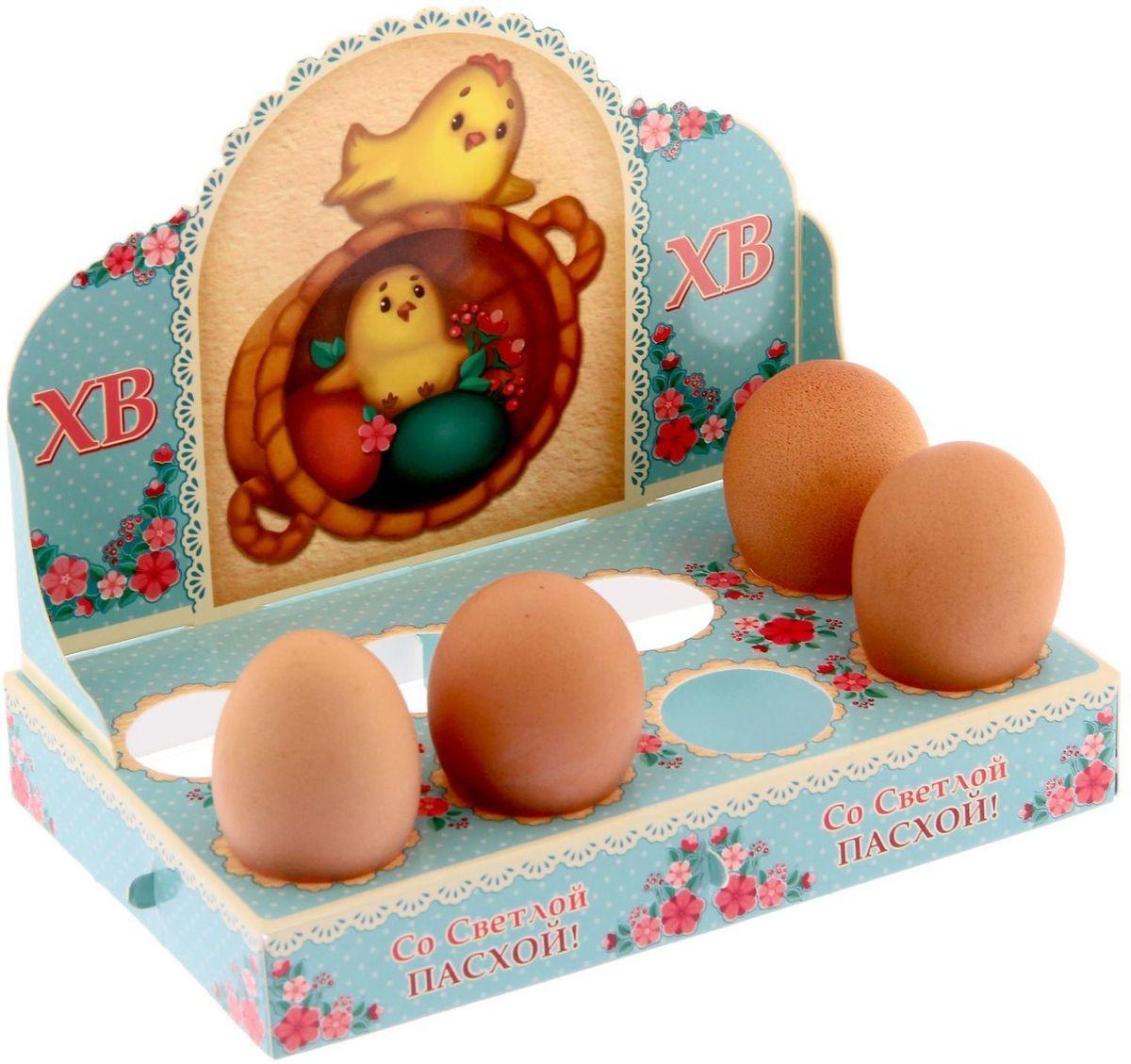 Подставка пасхальная ХВ. Печеный стиль, на 8 яиц, 13,7 х 8,1 см. 1209531VT-1520(SR)Яркие картонные подставки станут интересным дополнением к писанкам. Конструкция легко собирается и не даёт содержимому раскатиться по столу.