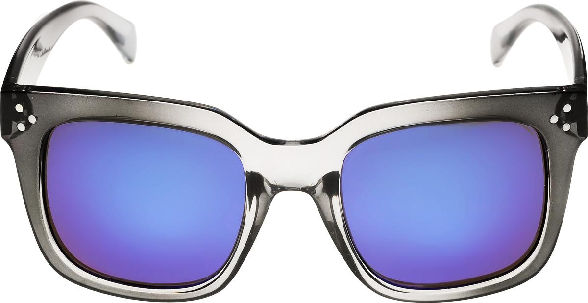 Очки солнцезащитные женские Vittorio Richi, цвет: черный, синий. ОС9140c490-635-5/17fBM8434-58AEОчки солнцезащитные Vittorio Richi это знаменитое итальянское качество и традиционно изысканный дизайн.