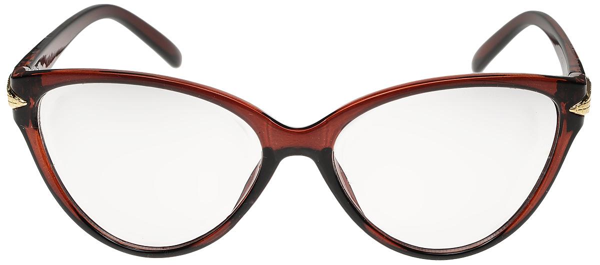 Очки солнцезащитные женские Vittorio Richi, цвет: коричневый. ОС3028c2/17fINT-06501Очки солнцезащитные Vittorio Richi это знаменитое итальянское качество и традиционно изысканный дизайн.