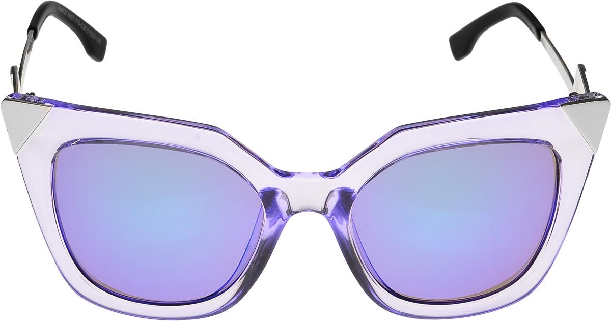Очки солнцезащитные женские Vittorio Richi, цвет: прозрачный, синий. ОС9127439-712-5/17fBM8434-58AEОчки солнцезащитные Vittorio Richi это знаменитое итальянское качество и традиционно изысканный дизайн.