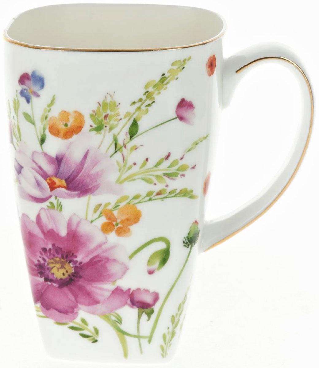 Кружка BHP Summer day, 600 мл54 009312Оригинальная кружка Best Home Porcelain, выполненная из высококачественного фарфора, сочетает в себе изысканный дизайн с максимальной функциональностью.Красочность оформления кружки придется по вкусу и ценителям классики, и тем, кто предпочитает утонченность и изысканность. В комплект входит кружка. Можно использовать в ПММ.