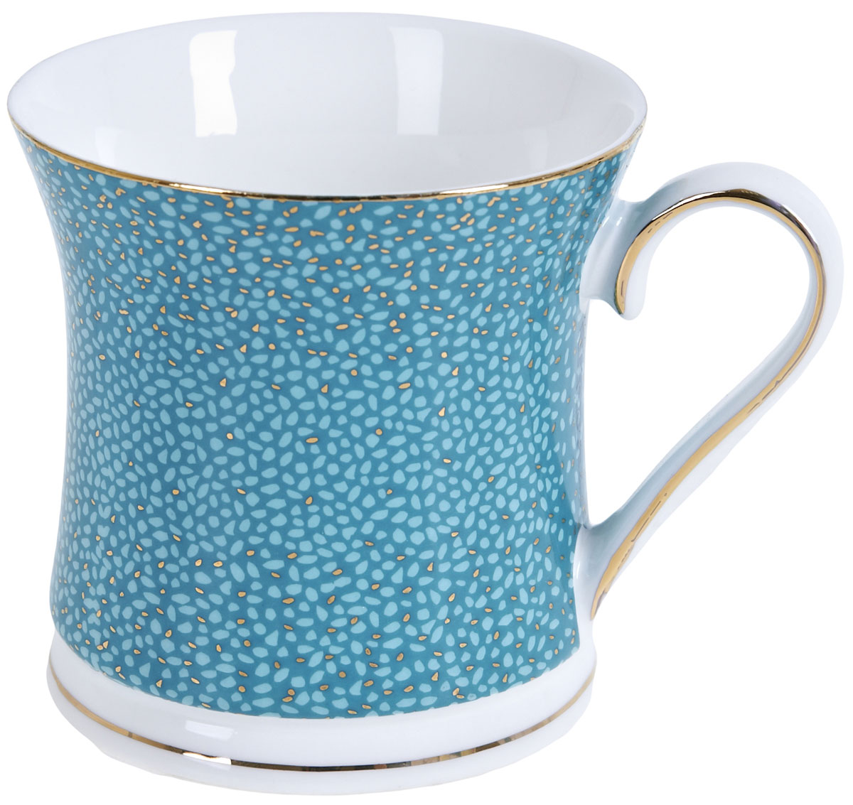 Кружка BHP Морская волна, 375 мл. 12101171210117Оригинальная кружка Best Home Porcelain, выполненная из высококачественного фарфора, сочетает в себе простой, утонченный дизайн с максимальной функциональностью. Можно использовать в посудомоечной машине.
