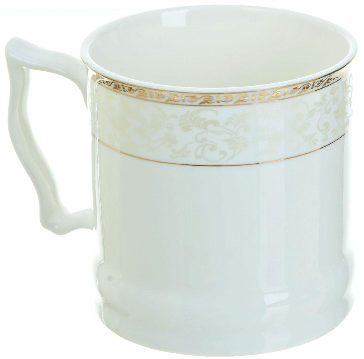 Кружка BHP Королевская кружка, 500 мл. 187000454 009312Оригинальная кружка Best Home Porcelain, выполненная из высококачественного фарфора, сочетает в себе простой, утонченный дизайн с максимальной функциональностью. Можно использовать в посудомоечной машине.