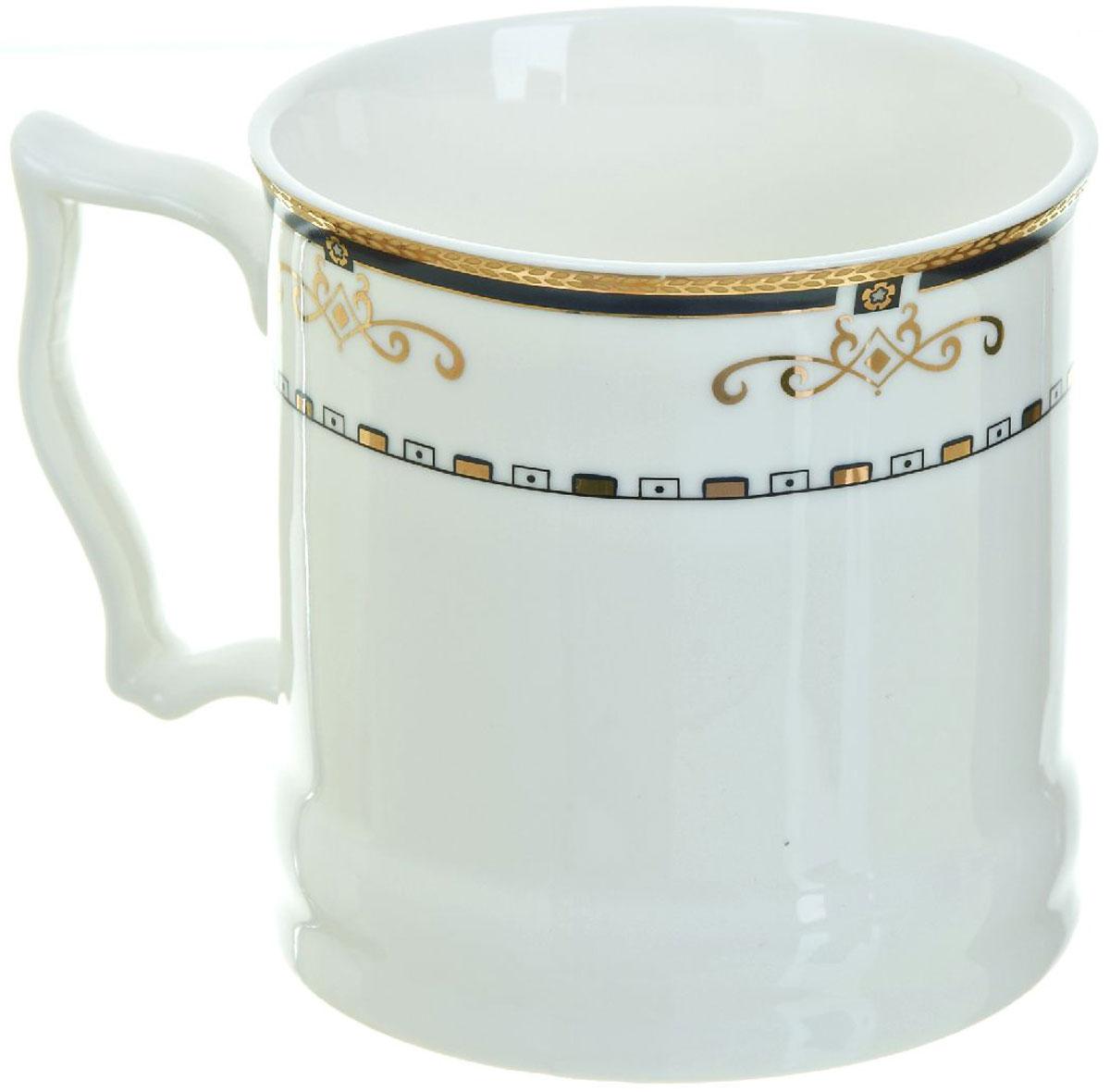 Кружка BHP Королевская кружка, 500 мл. 187000554 009312Оригинальная кружка Best Home Porcelain, выполненная из высококачественного фарфора, сочетает в себе простой, утонченный дизайн с максимальной функциональностью. Можно использовать в посудомоечной машине.