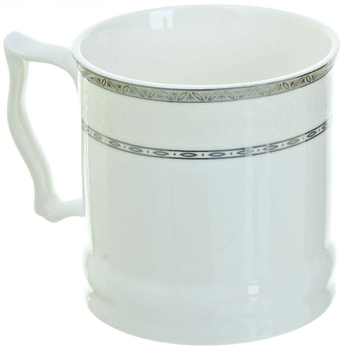 Кружка BHP Королевская кружка, 500 мл. 1870006115510Оригинальная кружка Best Home Porcelain, выполненная из высококачественного фарфора, сочетает в себе простой, утонченный дизайн с максимальной функциональностью. Оригинальность оформления придутся по вкусу тем, кто ценит индивидуальность.Можно использовать в посудомоечной машине.