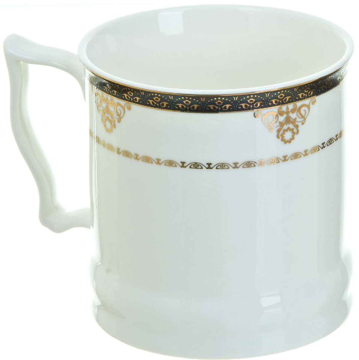 Кружка BHP Королевская кружка, 500 мл. 1870007VT-1520(SR)Оригинальная кружка Best Home Porcelain, выполненная из высококачественного фарфора, сочетает в себе простой, утонченный дизайн с максимальной функциональностью. Можно использовать в посудомоечной машине.