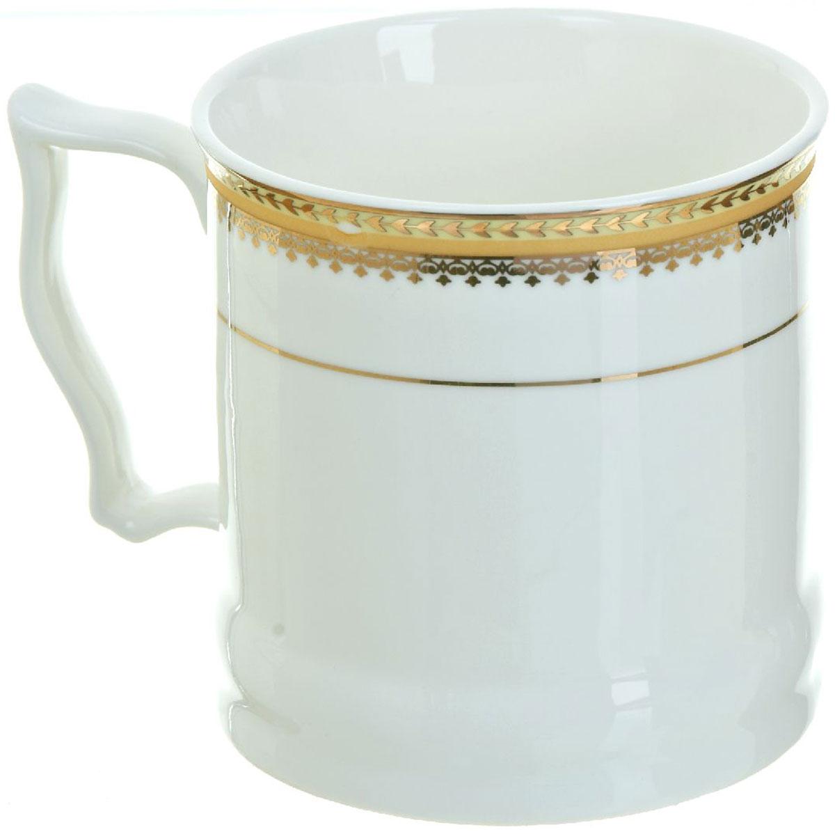 Кружка BHP Королевская кружка, 500 мл. 1870009115510Оригинальная кружка Best Home Porcelain, выполненная из высококачественного фарфора, сочетает в себе простой, утонченный дизайн с максимальной функциональностью. Оригинальность оформления придутся по вкусу тем, кто ценит индивидуальность.Можно использовать в посудомоечной машине.