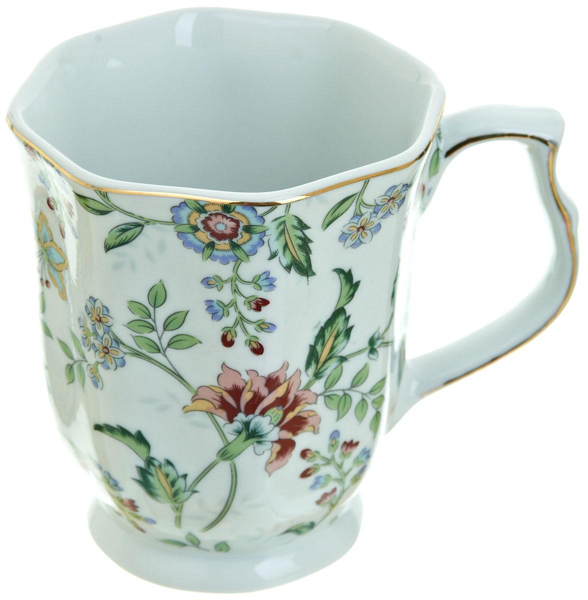 Кружка BHP Альпийский сад, 350 мл115510Оригинальная кружка Best Home Porcelain, выполненная из высококачественного фарфора, сочетает в себе изысканный дизайн с максимальной функциональностью.Красочность оформления кружки придется по вкусу и ценителям классики, и тем, кто предпочитает утонченность и изысканность. Можно использовать в посудомоечной машине.