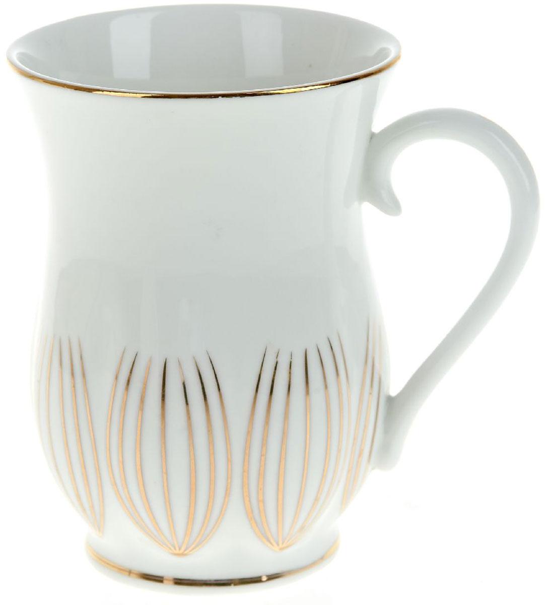 Кружка BHP Грация, 400 мл391602Оригинальная кружка Best Home Porcelain, выполненная из высококачественного фарфора, сочетает в себе простой, утонченный дизайн с максимальной функциональностью. Оригинальность оформления придется по вкусу тем, кто ценит индивидуальность.Можно использовать в посудомоечной машине.