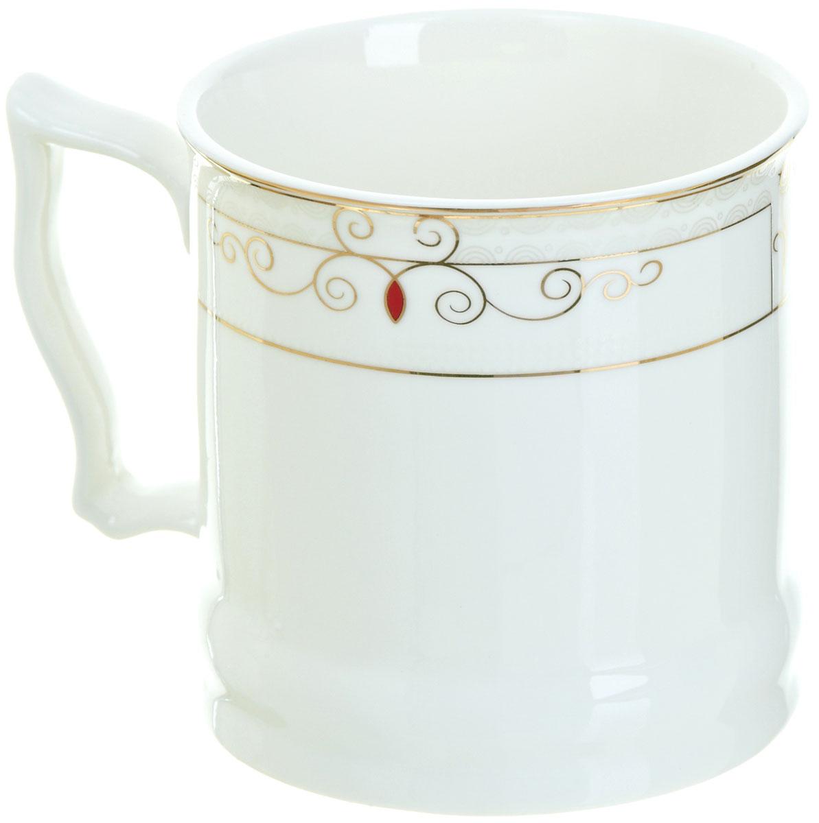 Кружка BHP Королевская кружка, 500 мл. M187000354 009312Оригинальная кружка Best Home Porcelain, выполненная из высококачественного фарфора, сочетает в себе простой, утонченный дизайн с максимальной функциональностью. Оригинальность оформления придутся по вкусу тем, кто ценит индивидуальность. В комплект входит кружка. Можно использовать в ПММ.