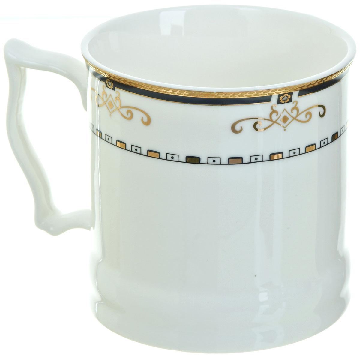 Кружка BHP Королевская кружка, 500 мл. M1870005115510Оригинальная кружка Best Home Porcelain, выполненная из высококачественного фарфора, сочетает в себе простой, утонченный дизайн с максимальной функциональностью. Оригинальность оформления придутся по вкусу тем, кто ценит индивидуальность.Можно использовать в посудомоечной машине.