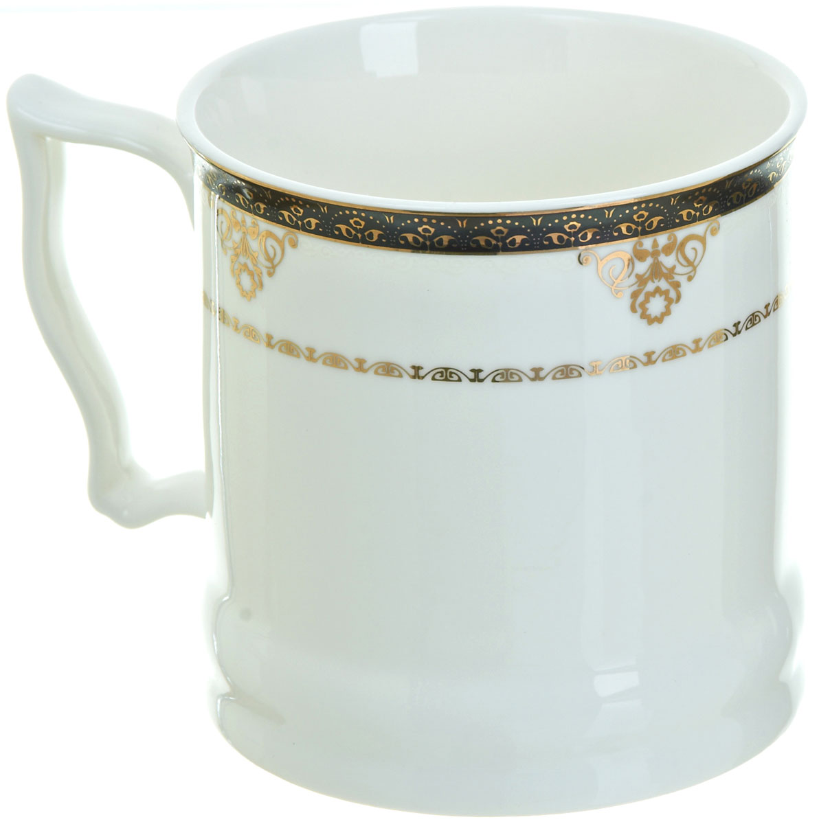 Кружка BHP Королевская кружка, 500 мл. M1870007VT-1520(SR)Оригинальная кружка Best Home Porcelain, выполненная из высококачественного фарфора, сочетает в себе простой, утонченный дизайн с максимальной функциональностью. Можно использовать в посудомоечной машине.