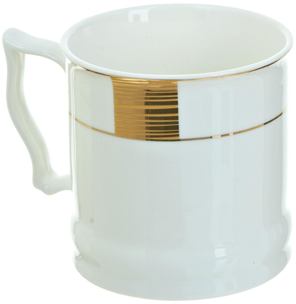 Кружка BHP Королевская кружка, 500 мл. M1870010115510Оригинальная кружка Best Home Porcelain, выполненная из высококачественного фарфора, сочетает в себе простой, утонченный дизайн с максимальной функциональностью. Оригинальность оформления придутся по вкусу тем, кто ценит индивидуальность.Можно использовать в посудомоечной машине.