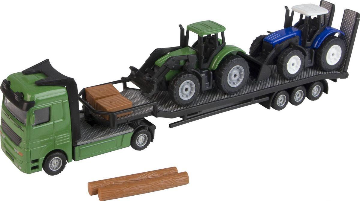 HTI Игровой набор Перевозчик трактора