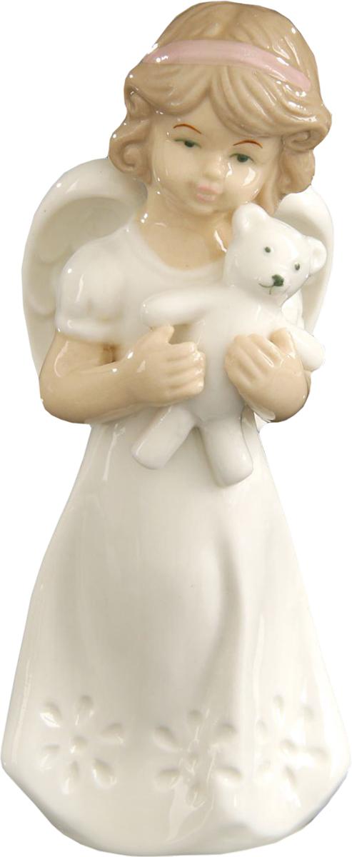 Сувенир пасхальный Sima-land Ангел с мишуткой, 12 х 6 х 4 смFLY3214-3Сувенир Ангел с мишуткой — сувенир в полном смысле этого слова. И главная его задача — хранить воспоминание о месте, где вы побывали, или о том человеке, который подарил данный предмет. Преподнесите эту вещь своему другу, и она станет достойным украшением его дома.