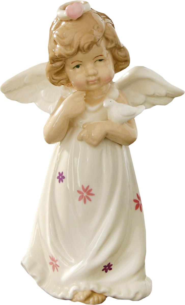 Сувенир пасхальный Sima-land Ангел в платьице с цветочками, 14,5 х 8,5 х 5 смTHN132NСувенир Ангел в платьице с цветочками — сувенир в полном смысле этого слова. И главная его задача — хранить воспоминание о месте, где вы побывали, или о том человеке, который подарил данный предмет. Преподнесите эту вещь своему другу, и она станет достойным украшением его дома.
