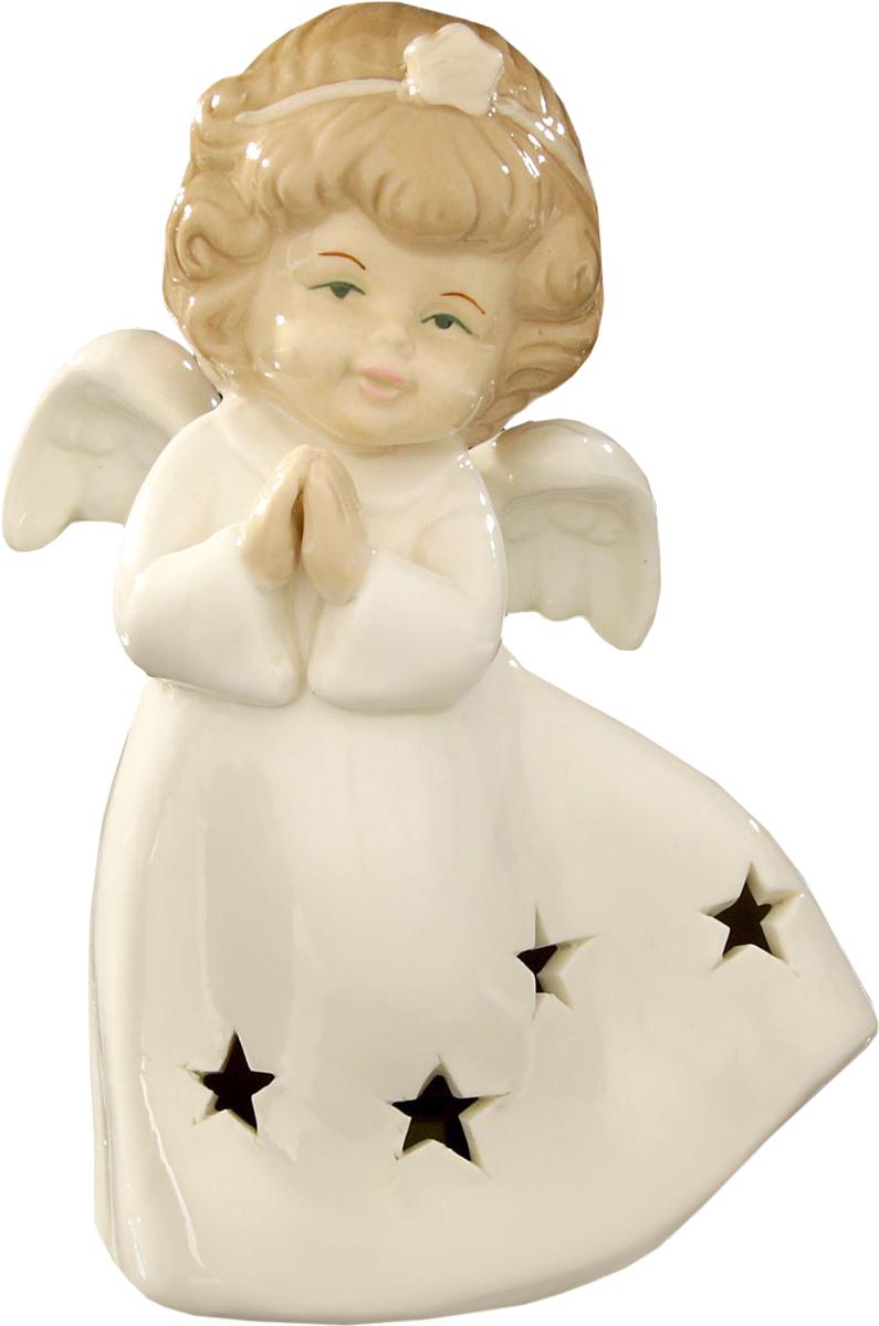 Сувенир пасхальный Sima-land Ангелочек свет в платье со звездочками, 15 х 9 х 6,5 смa030071Сувенир Ангелочек свет в платье со звёздочками — сувенир в полном смысле этого слова. И главная его задача — хранить воспоминание о месте, где вы побывали, или о том человеке, который подарил данный предмет. Преподнесите эту вещь своему другу, и она станет достойным украшением его дома.