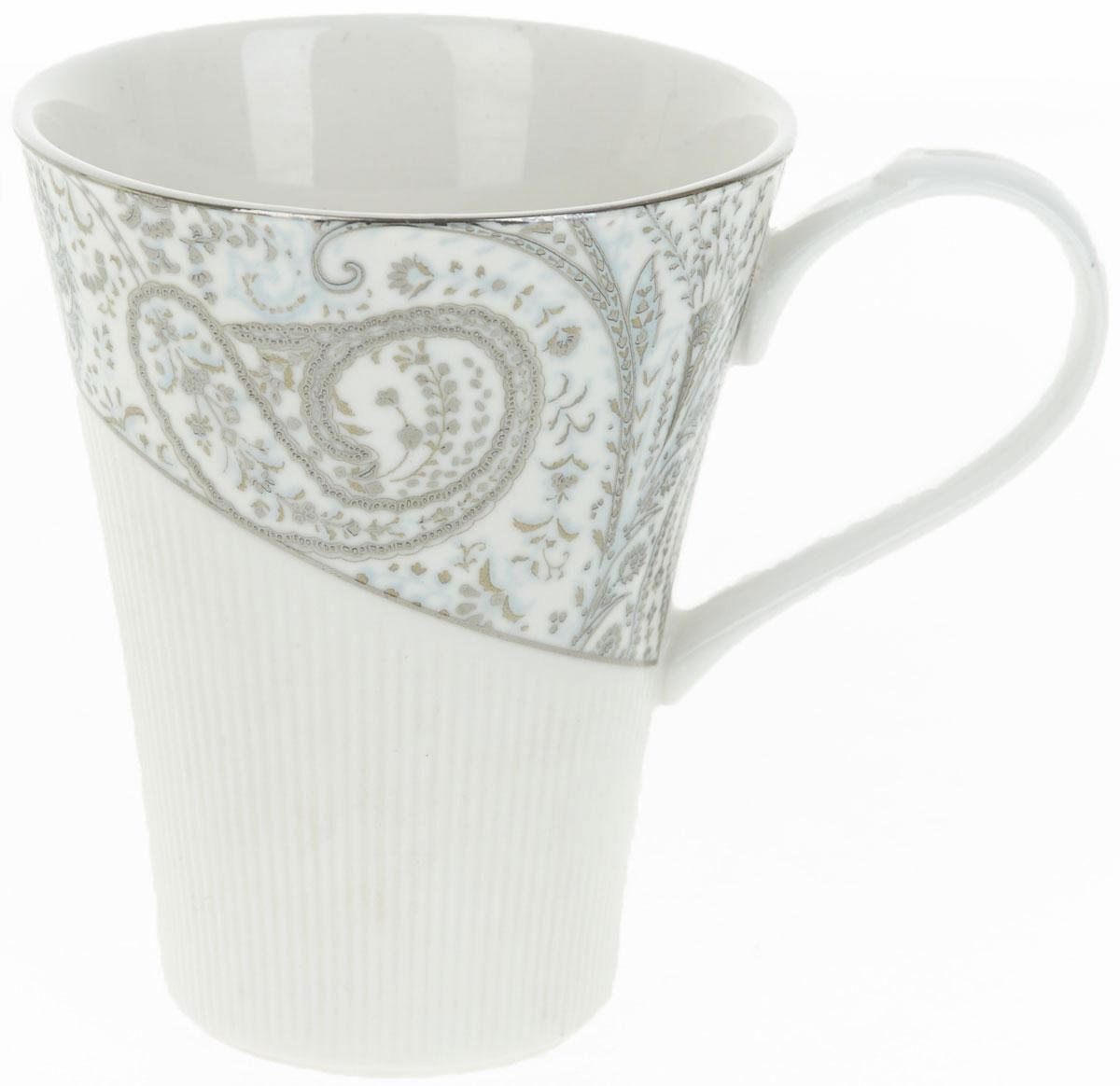 Кружка BHP Вавилон, 370 мл115510Оригинальная кружка Best Home Porcelain, выполненная из высококачественного фарфора, сочетает в себе простой, утонченный дизайн с максимальной функциональностью. Оригинальность оформления придется по вкусу тем, кто ценит индивидуальность.Можно использовать в посудомоечной машине.