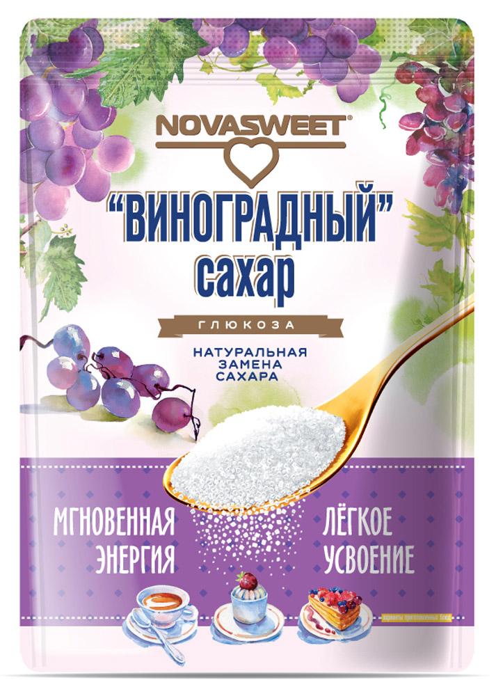 Novasweet глюкоза, 400 г5847Подходит для ежедневного применения в рационах питания, направленных на снижение потребления сахара.