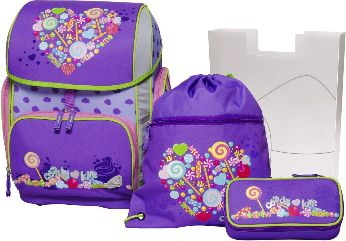 Schneiders Ранец школьный Toolbag Hutch Candy Love с наполнением -  Ранцы и рюкзаки