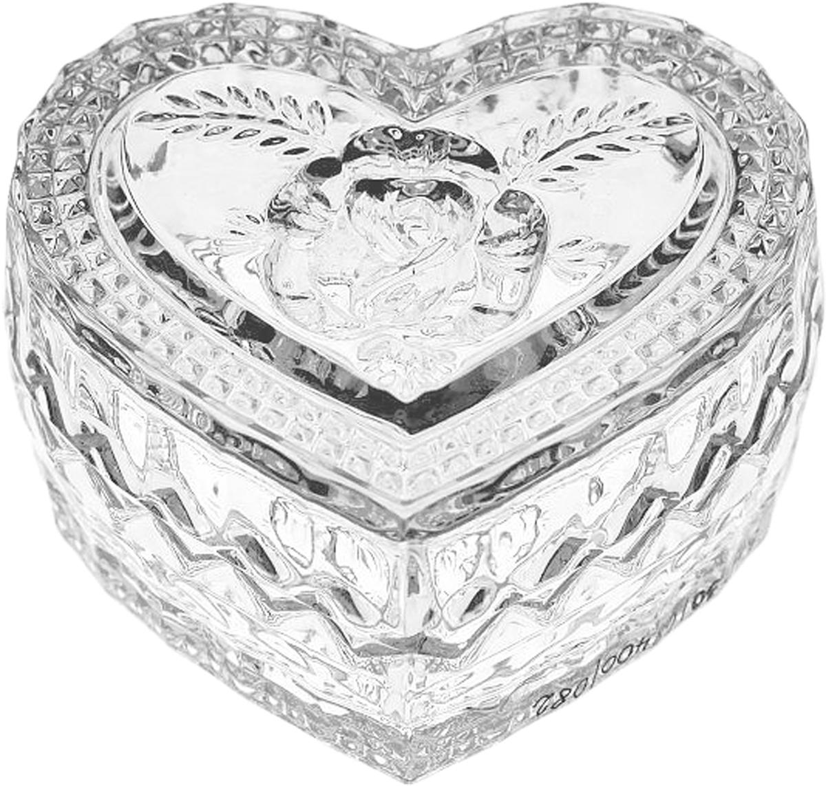 Менажница Crystal Bohemia Сердце, 8,2 см. БПХ171115510Настоящий чешский хрусталь с содержанием оксида свинца 24%, что придает изделиям поразительную прозрачность и чистоту, невероятный блеск, присущий только ювелирным изделиям, особое, ни с чем не сравнимое светопреломление и игру всеми красками спектра как при естественном, так и при искуственном освещении. Продукция из Хрусталя соответствуют всем европейским и российским стандартам качества и безопасности. Традиции чешских мастеров передаются из поколения в поколение. А высокая художаственная ценность иделий признана искушенными ценителями во всем мире. Продукция из Хрусталя соответствуют всем европейским и российским стандартам качества и безопасности.