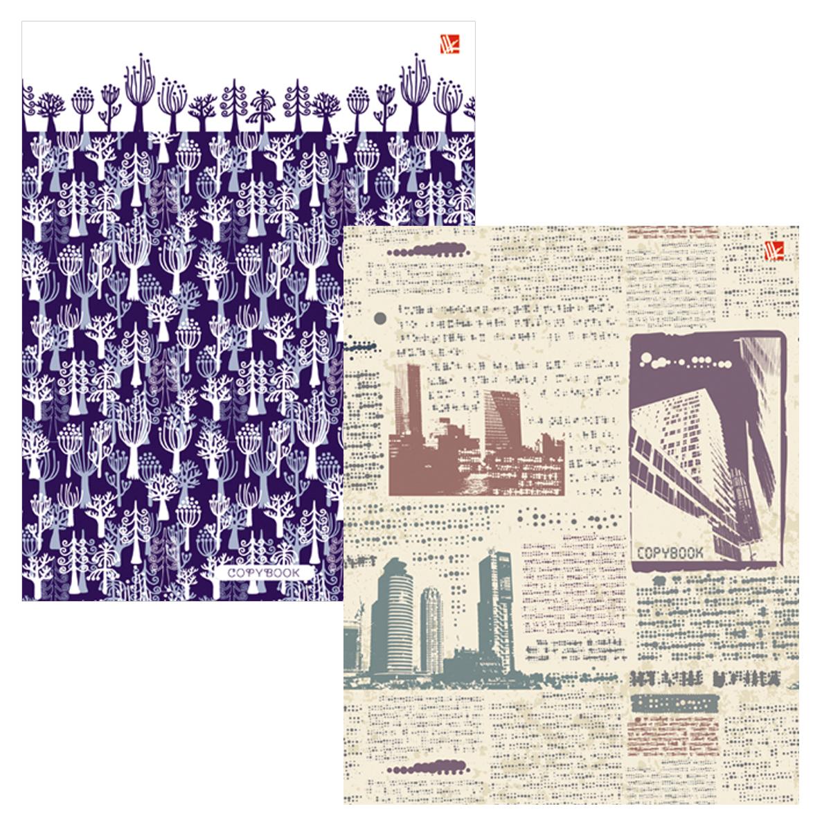 Listoff Набор тетрадей Графика 80 листов в клетку 2 шт72523WDНабор тетрадей Listoff Графика подойдет как школьнику, так и студенту.Обложка тетрадей выполнена из картона и дополнена стильными изображениями Внутренний блок каждой тетради на кольцах состоит из 80 листов белой бумаги с линовкой в клетку синего цвета без полей.