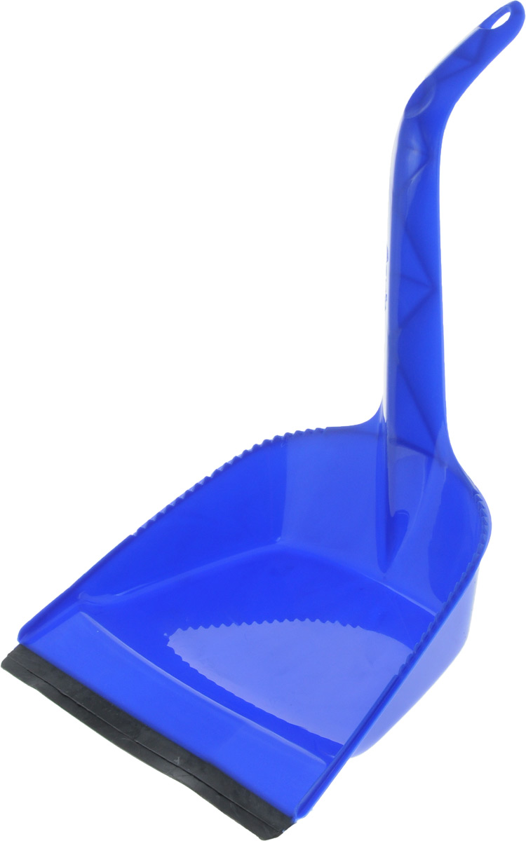 Совок Svip Идеал, с кромкой, цвет: синий, 40 х 22,5 х 6,5 см071-411-4528Совок Svip Идеал, выполненный из полипропилена, предназначен для сбора мусора и пыли приуборке помещений. Он оснащен эргономичной ручкой с петлей, которая позволит повеситьизделие на крючок. Благодаря высокой рукоятке нет необходимостисильно наклоняться для заметания мусора. Края совка оснащены зубчиками для чистки щетки после ее использования. Совок имеет резиновую кромку, благодаря которой удобнее собирать мусор.Размер рабочей части: 16 х 22,5 см, Длина ручки: 24,5 см, Длина совка (с учетом ручки): 40 см.