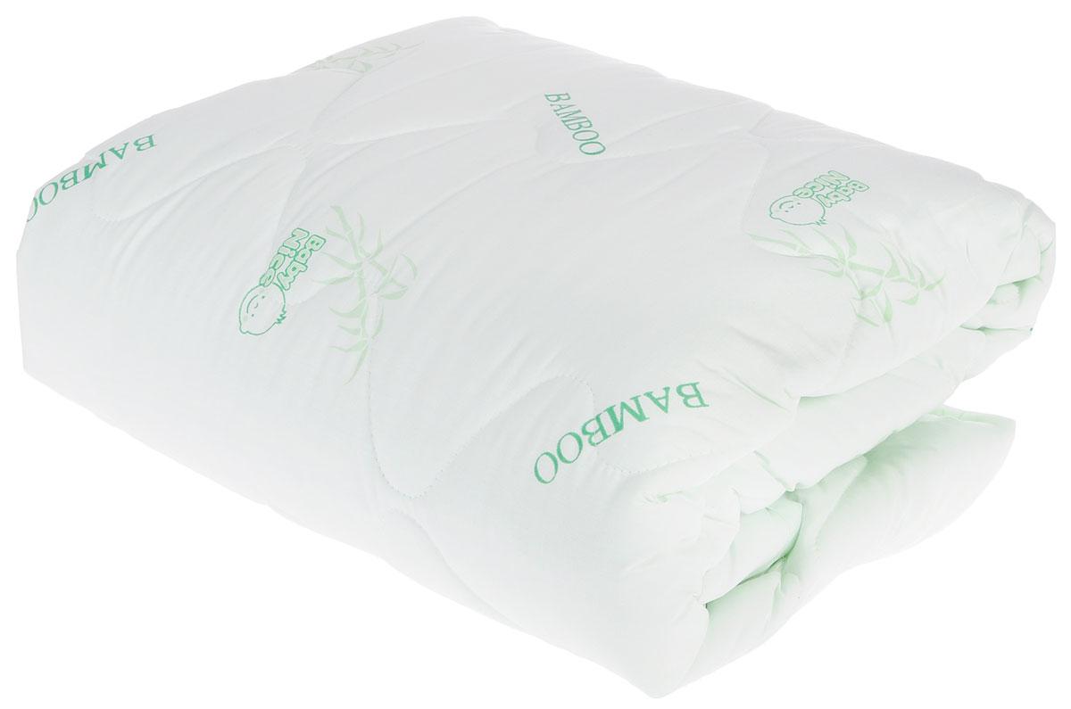 Одеяло детское Baby Nice, стеганое, цвет: светло-зеленый, 110 см x 140 см. Q0125323Q0125323