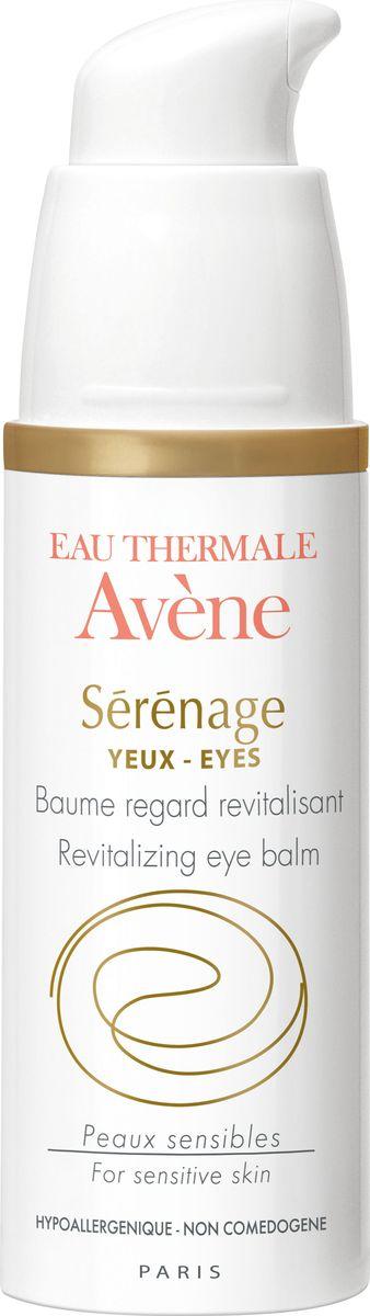 Avene Восстанавливающий бальзам Serenage для контура глаз, 15 млC49669Кремообразная текстура, обогащенная термальной водой Avene, обеспечивает ощущение комфорта.- укрепляет кожу век благодаря фрагментированной гиалуроновой кислоте (H.A.F.), эксклюзивной разработке Дерматологических лабораторий Avene,- уменьшает обвисание кожи век и темные мешки под глазами,- смягчает, питает и защищает нежную чувствительную кожу век и контуров глаз благодаря Гликолеолу и Претокоферилу. Освежает кожу и дарит ей сияние, ваши глаза выглядят моложе.