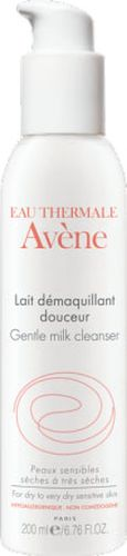 Avene Мягкое очищающее молочко Sensibles 200 млFS-00897Мягкое очищающее молочко с очень насыщенной текстурой разработано специально для сухой и очень сухой чувствительной кожи.• Молочко с высоким содержанием Термальной воды Avene сохраняет её уникальные успокаивающие и снимающие раздражение свойства. • Созданное с использованием только мягко действующих компонентов, молочко прекрасно удаляет макияж и загрязнения с лица, глаз и губ, оставляя кожу мягкой и эластичной. • Благодаря активным увлажняющим компонентам с каждым днём кожа приобретает непередаваемое ощущение комфорта.