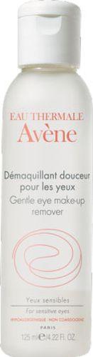 Avene Мягкий лосьон Soins des yeux для снятия макияжа с глаз 125 млFS-00897Лосьон имеет особую гелевую текстуру, разработанную специально для снятия макияжа с чувствительной кожи вокруг глаз. Особенно рекомендуется женщинам, использующим контактные линзы. Свойства: Благодаря высокому содержанию термальной воды Avene с успокаивающими и снимающими раздражение свойствами лосьон не пересушивает чувствительную кожу век.Формула, не содержащая агрессивных очищающих компонентов, мягкоудаляет макияж. Нежирная гелевая текстура лосьона предотвращает сухость век.Обладая уровнем рН идентичным рН человеческой слезы, лосьон очень хорошо переносится.