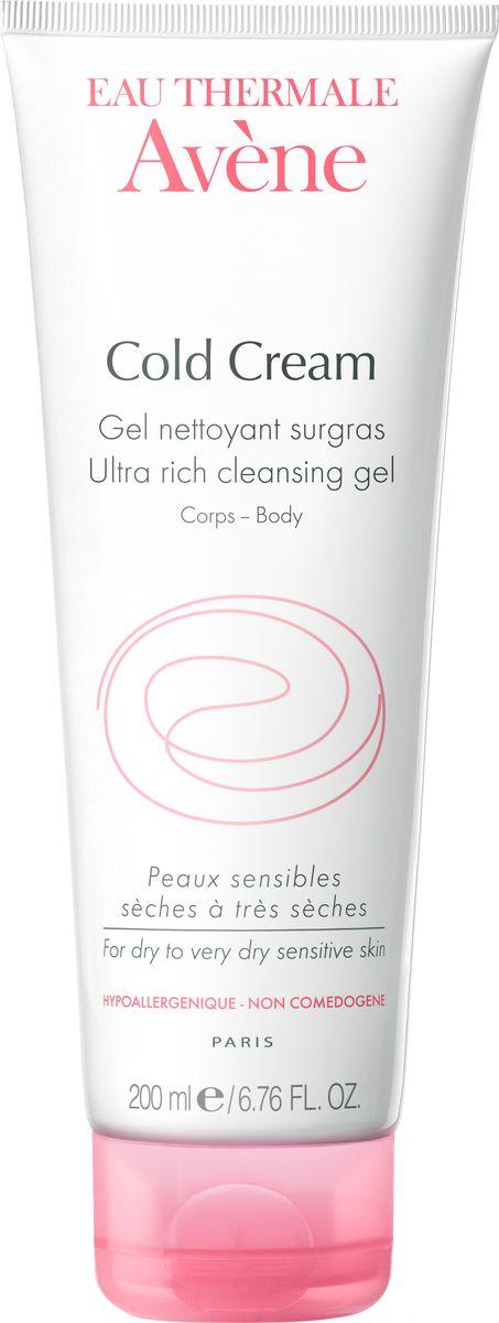 Avene Очищающий сверхпитательный гель Cold-cream для лица и тела 200 мл