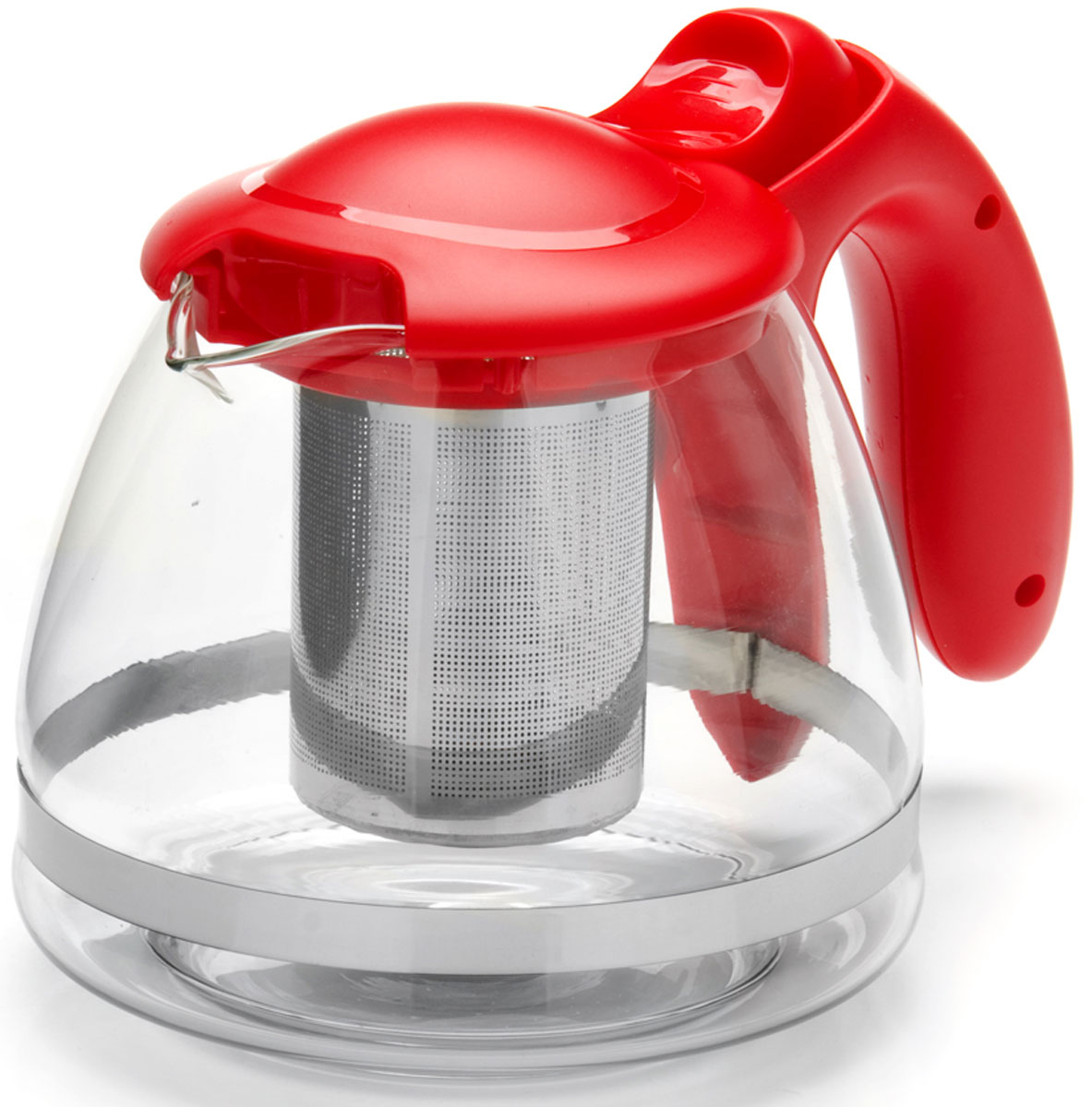 Чайник заварочный Mayer & Boch, с фильтром, 1,2 л. 26172-1VT-1520(SR)Заварочный чайник изготовлен из термостойкого боросиликатного стекла, фильтр выполнены из нержавеющей стали. Изделия из стекла не впитывают запахи, благодаря чему вы всегда получите натуральный, насыщенный вкус и аромат напитков. Подходит для мытья в посудомоечной машине.Объем чайника: 1200 мл.