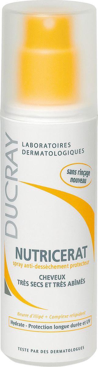 Ducray Защитный спрей Neoptide для сухих волос 75млP0830000Спрей Nutricerat (Нутрицерат) защищает волосы от внешнего агрессивного воздействия (при укладке феном, на море, в бассейне или во время пребывания на солнце и т.д.).Масло иллипа обеспечивает волосы необходимыми питательными компонентами, восстанавливающий релипидирующий комплекс (растительного происхождения) в сочетании с солнцезащитным фильтром позволяет защитить волосяной стержень от агрессивных внешних воздействий и обезвоживания, разглаживающие компоненты облегчают расчесывание, обеспечивают мягкость, блеск и эластичность волос.Не требует смывания. Не утяжеляет волосы.