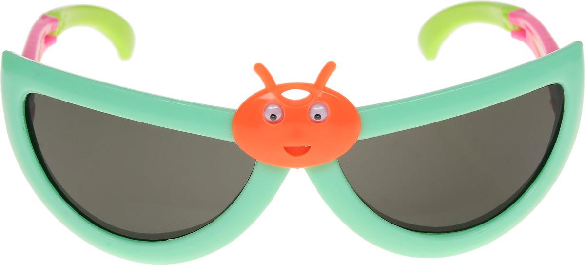 Очки солнцезащитные детские Vittorio Richi, цвет: зеленый. ОСбожьякоровка/17f1900671-5605Очки солнцезащитные Vittorio Richi это знаменитое итальянское качество и традиционно изысканный дизайн.