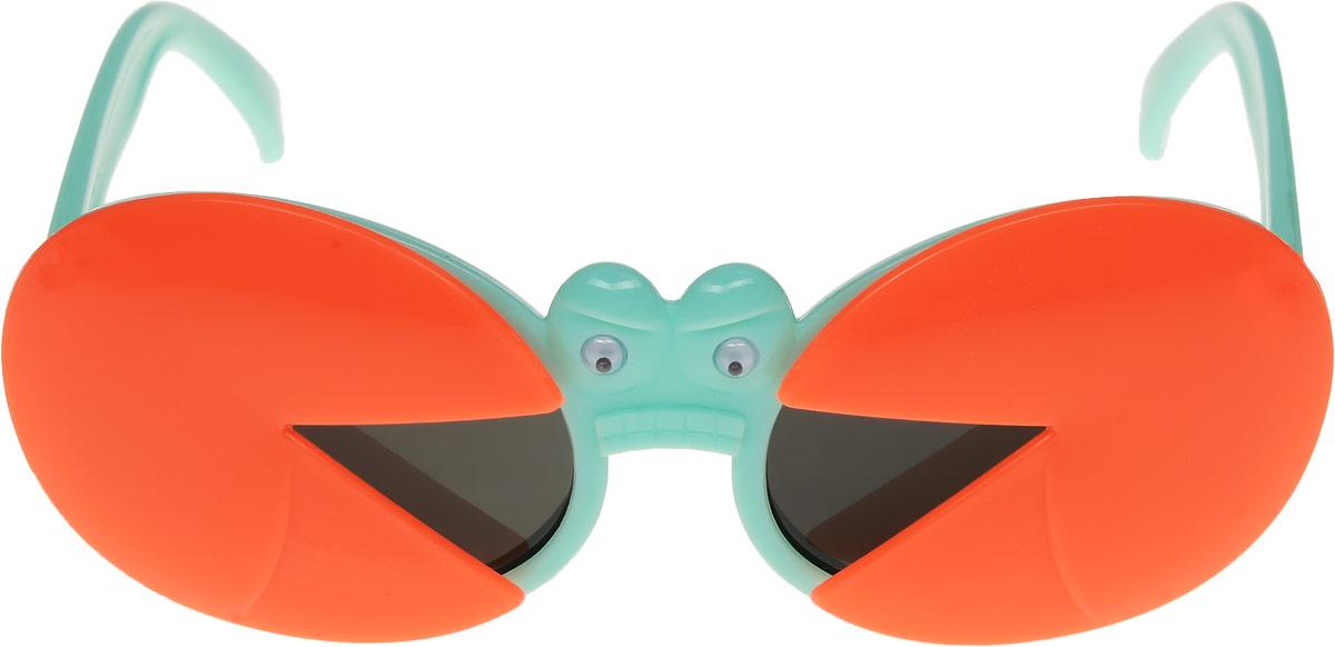 Очки солнцезащитные детские Vittorio Richi, цвет: оранжевый, зеленый. ОСкраб-/17fBM8434-58AEОчки солнцезащитные Vittorio Richi это знаменитое итальянское качество и традиционно изысканный дизайн.
