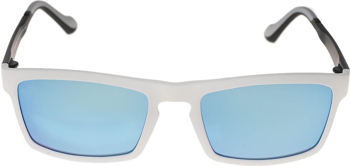 Очки солнцезащитные мужские Vittorio Richi, цвет: белый. ОС528c219-464/17fINT-06501Очки солнцезащитные Vittorio Richi это знаменитое итальянское качество и традиционно изысканный дизайн.