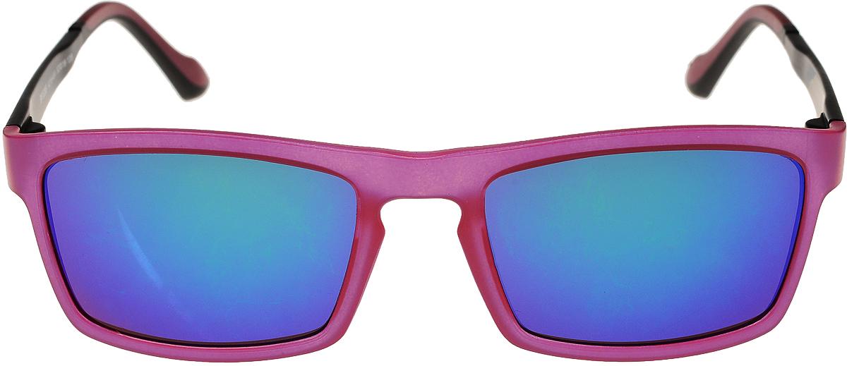 Очки солнцезащитные мужские Vittorio Richi, цвет: розовый, синий. ОС528c215-464/17fINT-06501Очки солнцезащитные Vittorio Richi это знаменитое итальянское качество и традиционно изысканный дизайн.